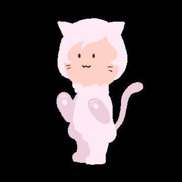 人狼ゲームの白猫