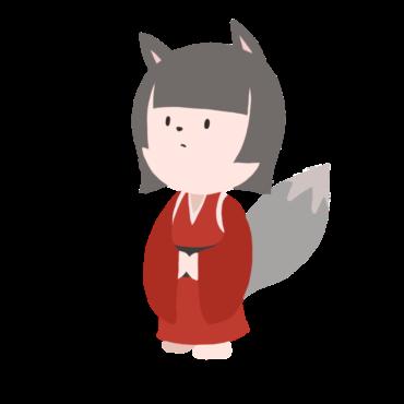 妖狐のフリー素材