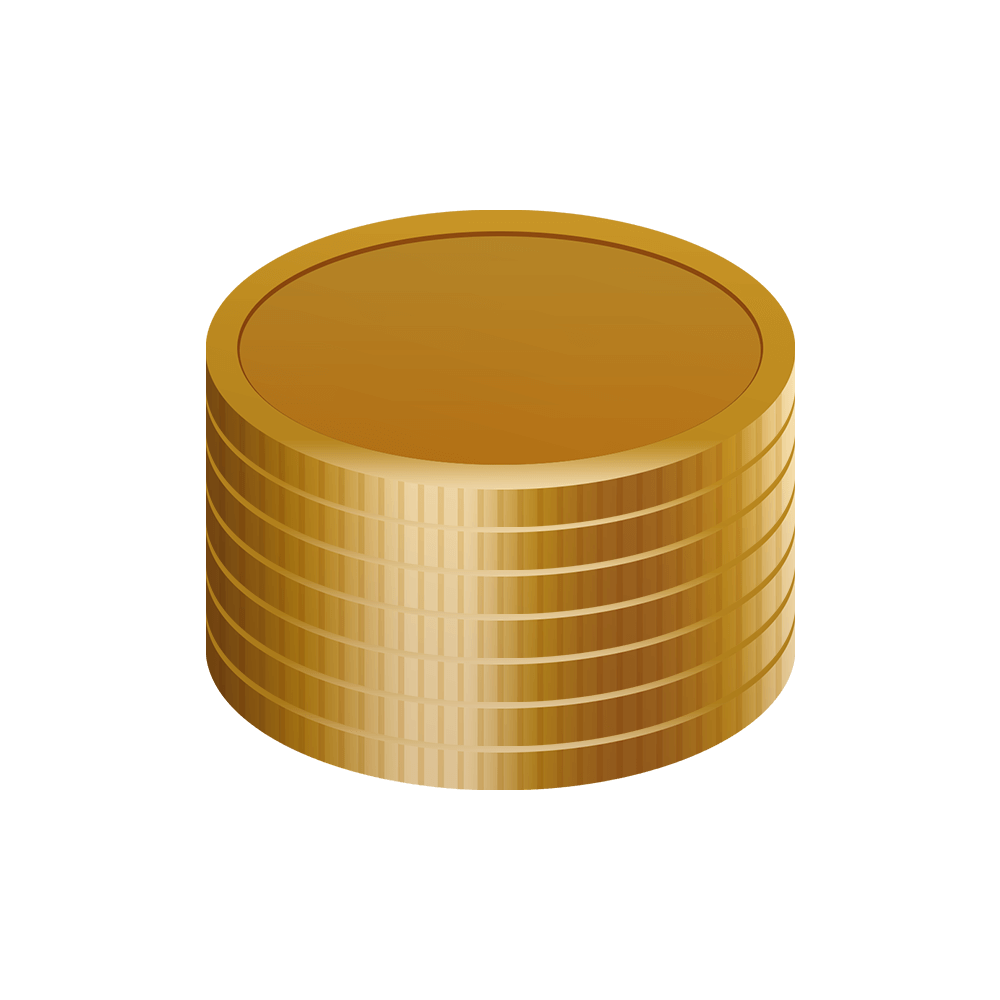 積まれた金貨