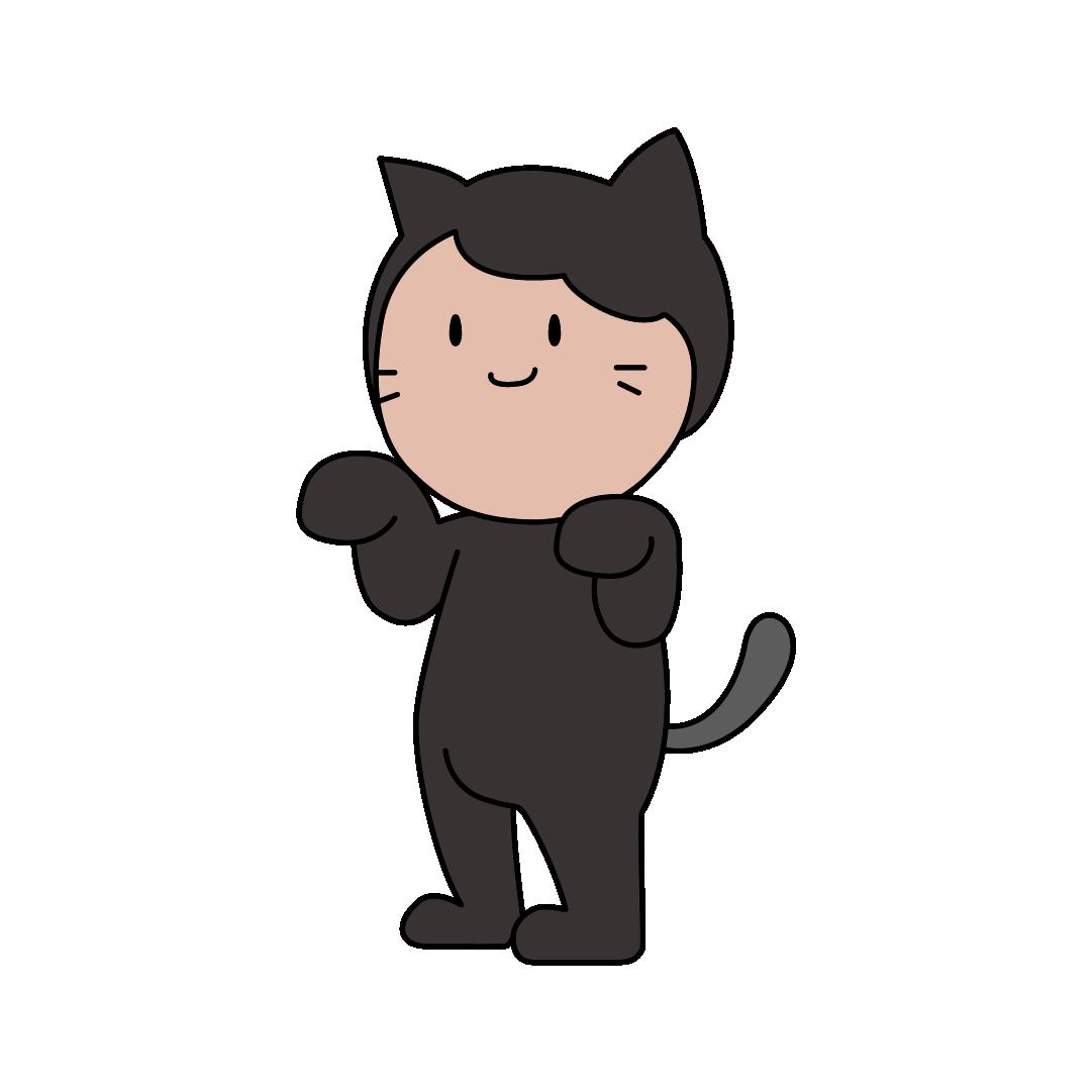 人狼ゲームの黒猫